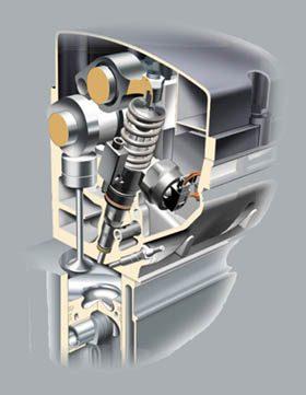 détail Culasse injecteur pompe