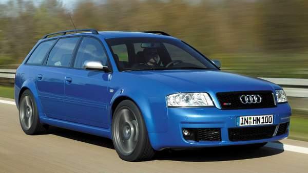 Audi RS6 plus 2004