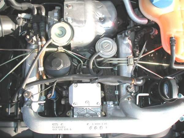 Moteur Audi V6 2.5 TDI